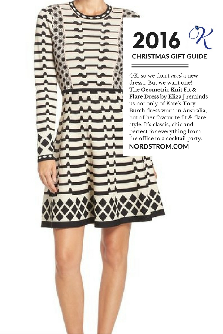 Kate Middleton Black White dress