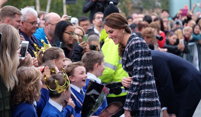 The Duke and Duchess of Cambridge visit Manchester