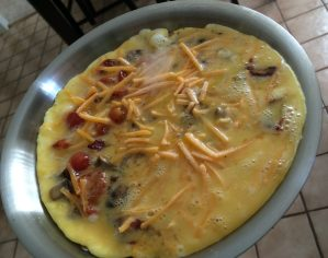Cooking with Catherine:  Full English Frittata