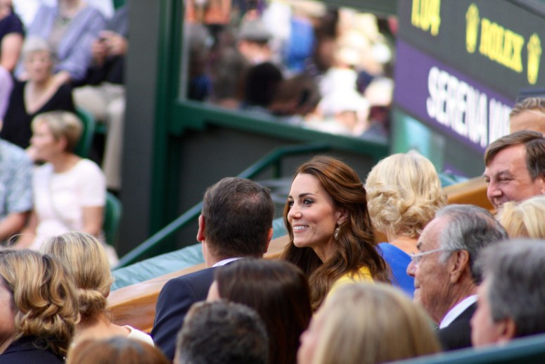 Duchess of Cambridge Wimbledon