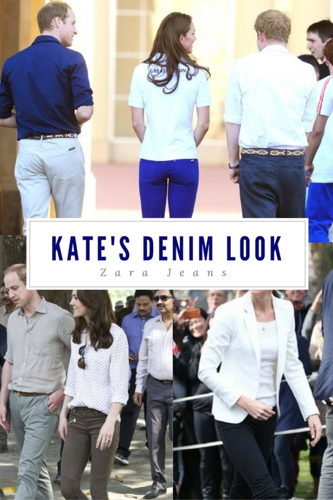 Kate Middleton Zara Jeans