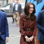 Kate Dazzles in Festive Dress for The Mix Engagement