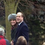 Kate & Family Attend Church Ahead of Her 35th Birthday