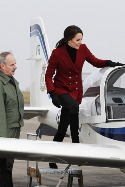 Kate Spends Valentine's Day with the Air Cadets