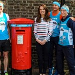 Kate Welcomes London Marathon Runners to Kensington Palace