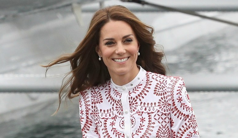 What is it like when Kate arrives at an Engagement?