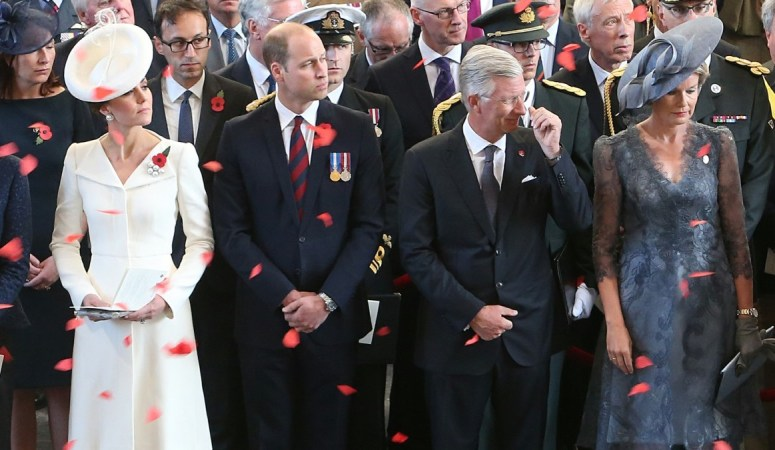 The Duke and Duchess of Cambridge visit Belgium