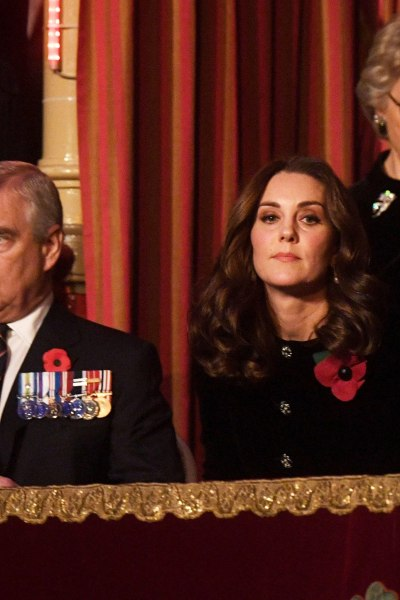 Kate joins the Royal Family at the Festival of Remembrance