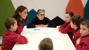 The Duke and Duchess of Cambridge visit Manchester for Children's Global Media Summit