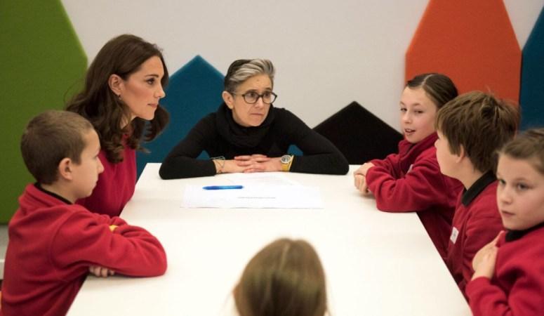 The Duke and Duchess of Cambridge visit Manchester for Children's Global Media Summit