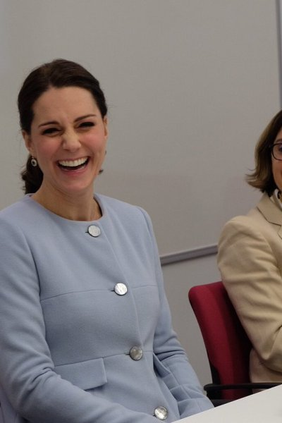 The Duchess of Cambridge visits King's College London