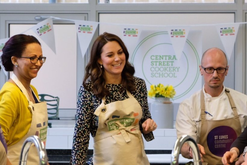 Duchess Cambridge Commonwealth Lunch Events Quiz