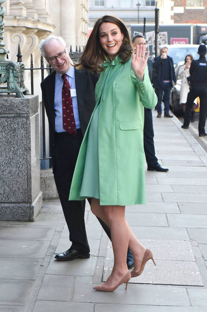 Duchess Of Cambridge visits the Royal Society Of Medicine in London