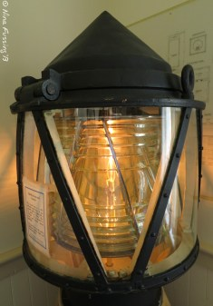 Fourth order lens on display at the lighthouse