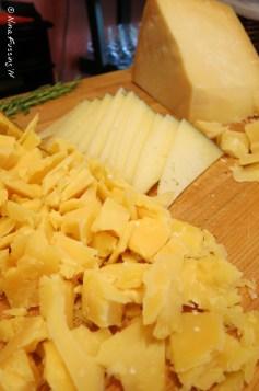 Yummy cheese selection at Terra Vina