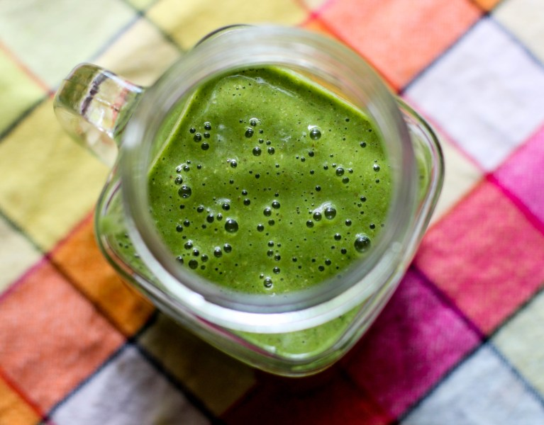 On the Go Spinach & Oat Smoothie