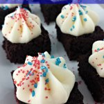 Frosted Brownie Bites
