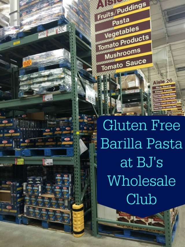 Gluten Free Barilla at BJ's