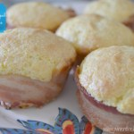 Bacon-Wrapped Corn Muffins