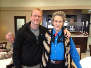 KT with Temple Grandin