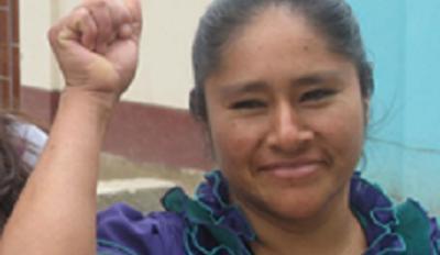 Santos Celestina Carranza Labor leader peru