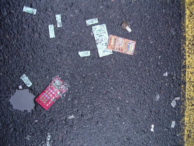 lottery litter