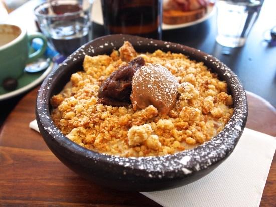 banoffee pie porridge