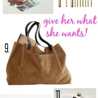 HOLIDAY GIFT GUIDE 2013-FOR HER