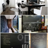 CHALKBOARD WALL.  YES OR NO?