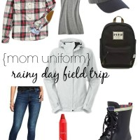 {MOM UNIFORM} RAINY DAY FIELD TRIP