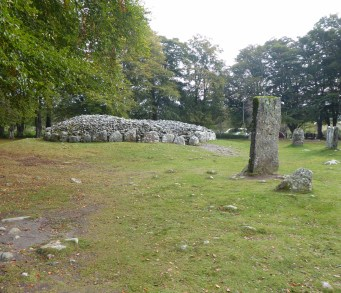 Clava Cairns and Culloden Battlefield