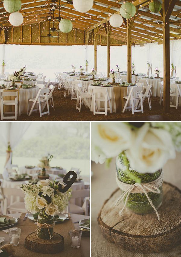 outdoor barn wedding