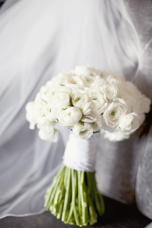 Ranunculus Wedding Flowers Bouquet White
