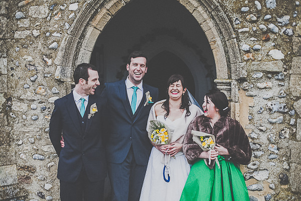 A Homemade Vintage Feel Village Hall Wedding