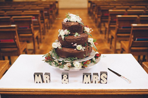 homemade chocolate wedding cake diy