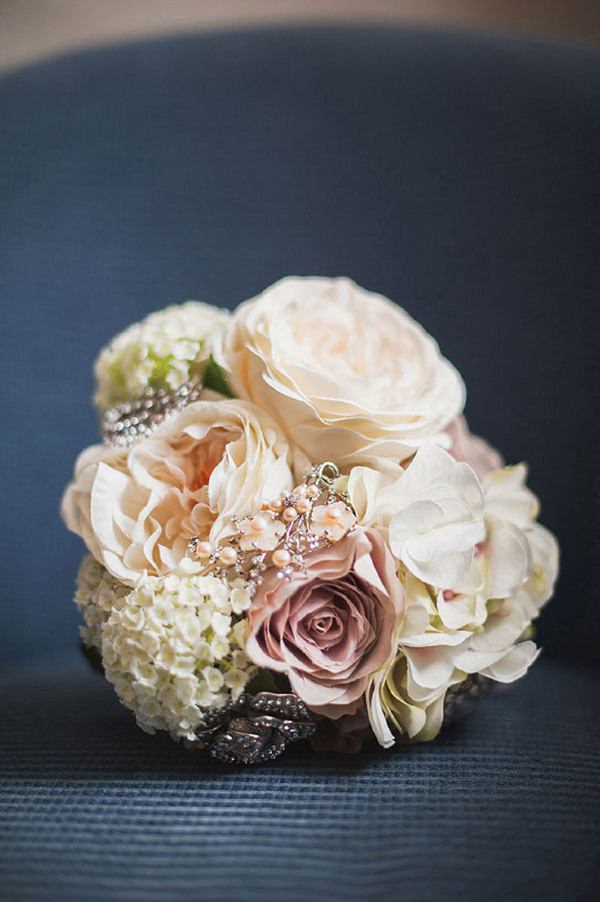 silk bouquet wedding