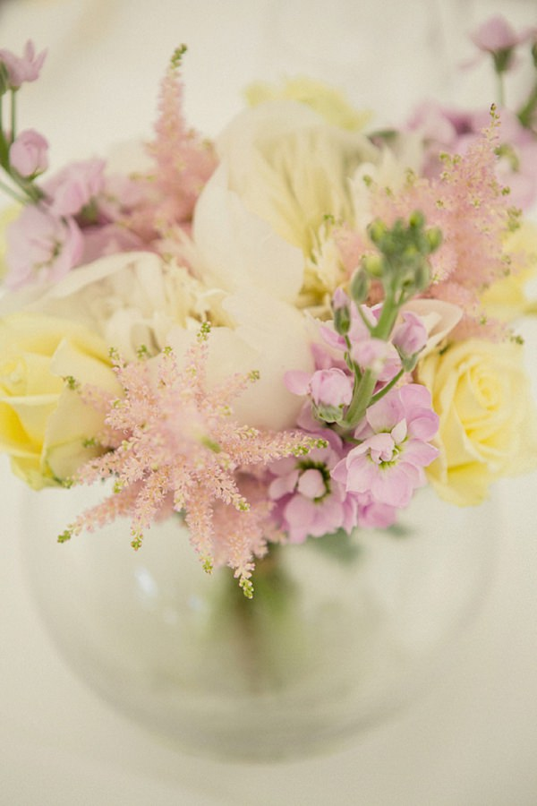 pink yellow wedding flowers pretty summer