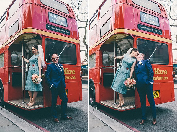 routemaster bus wedding