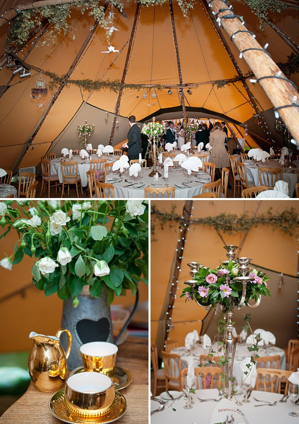 tipi teepee wedding