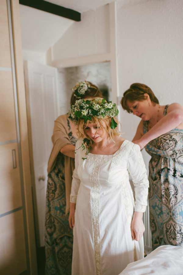 vintage wedding dress bride