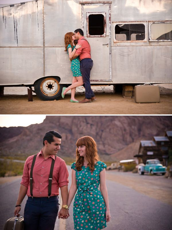 A Rustic Nevada Desert Engagement Whimsical Wonderland