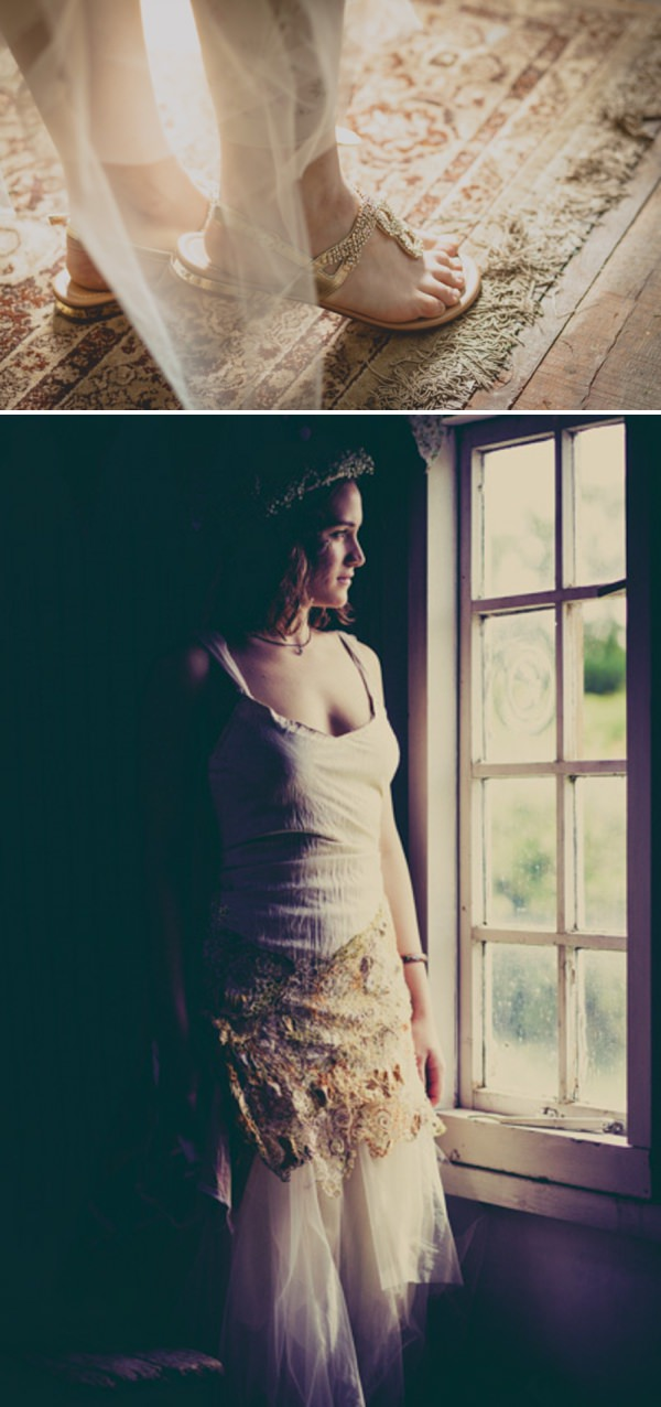 homemade wedding dress http://elizaboophotography.com/