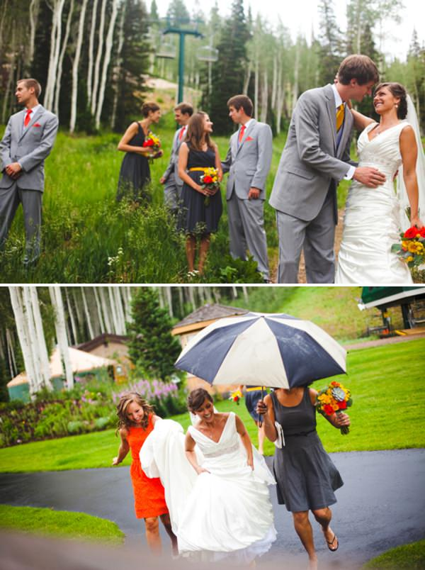 rainy wedding http://www.pier23photography.com/