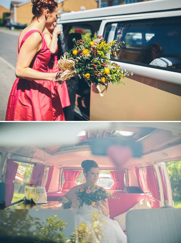 vw camper wedding http://www.cgweddings.co.uk/