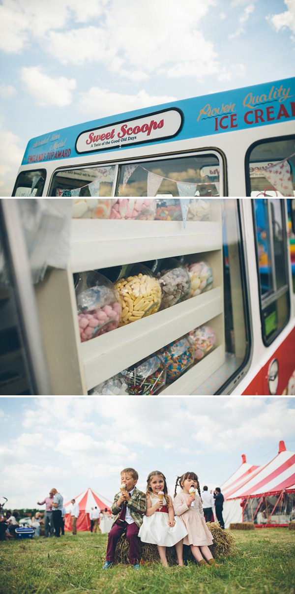 wedding ice cream http://www.cgweddings.co.uk/