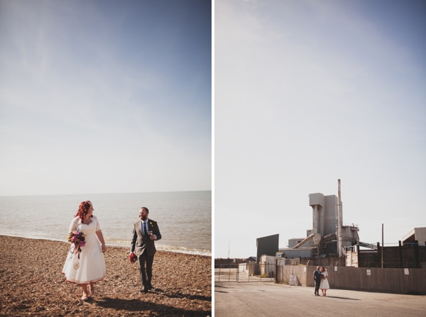 colourful seaside wedding http://www.paulfullerkentphotography.com/