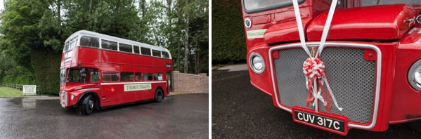red bus wedding http://www.vivaweddingphotography.com/