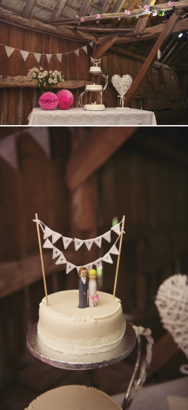 bunting wedding cake http://www.rebeccadouglas.co.uk/blog/