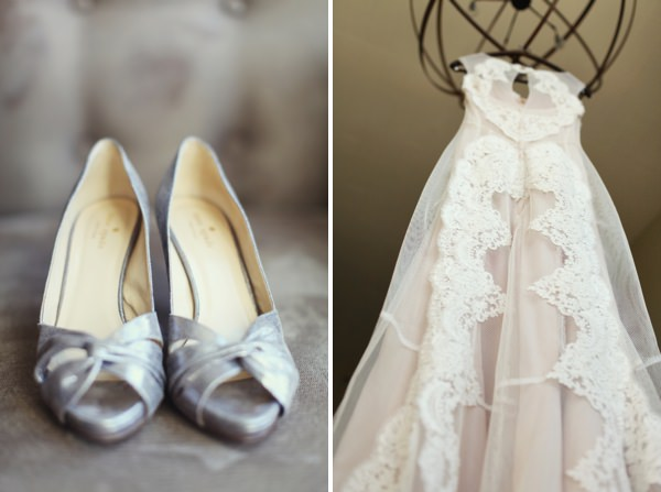wedding shoes dress Glamorous Mill Wedding North Carolina http://whiteboxphoto.com/