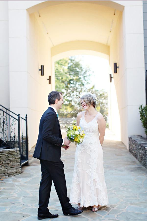 first look Glamorous Mill Wedding North Carolina http://whiteboxphoto.com/